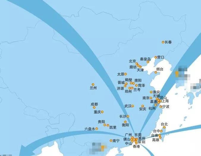 富士康在全国有多少个工厂(厂区)?